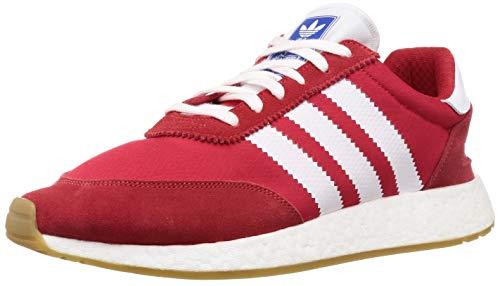 Adidas I-5923, Zapatillas de Gimnasia Hombre, Rojo (Scarlet/FTWR White/Gum 3 Scarlet/FTWR White/Gum 3), 37.5 EU