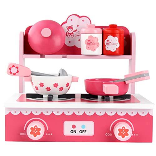 Non brand Sharplace Simulazione di Bambini Cucina Gioco di Ruolo Pretend Toy Cooker Game Set