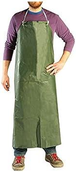 MANIVER ma9998Delantal Protección PVC, Verde