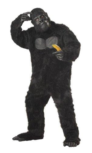 California Costumes Herren Men's Adult-Gorilla, Black, Standard Costume Kostüme für Erwachsene, schwarz, Einheitsgröße