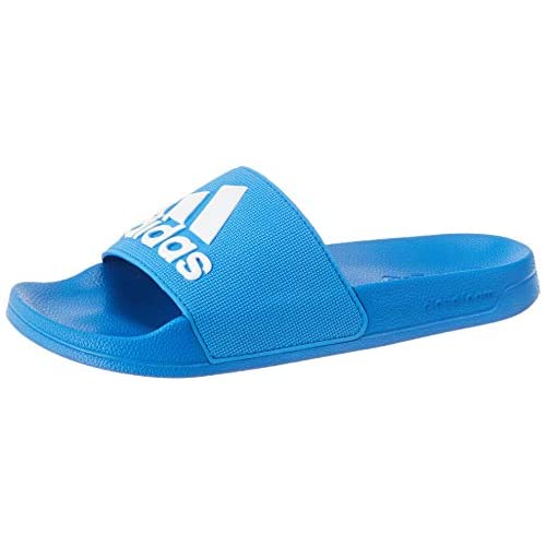 adidas Adilette Shower, Scarpe da Spiaggia e Piscina Uomo, Blu (True Blue/Ftwr White/True Blue), 38 EU