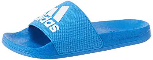 adidas Adilette Shower, Scarpe da Spiaggia e Piscina Uomo, Blu (True Blue/Ftwr White/True Blue), 42 EU
