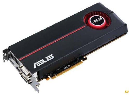 ASUS ATI Radeon EAH 5870 Grafikkarte (PCI-e, 1GB GDDR5 Speicher, 2X DVI-I, 1 GPU) Full Retail