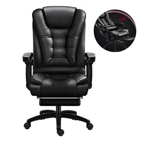 Schreibtischstühle Boss Stuhl Bürostuhl Zuhause Bequemer Langsitzlift Computerstuhl Rückenlehne Kann Liegen Armlehne Ist Stabiler 7 Punkte Massage Wirtschaftlich Und Bequem