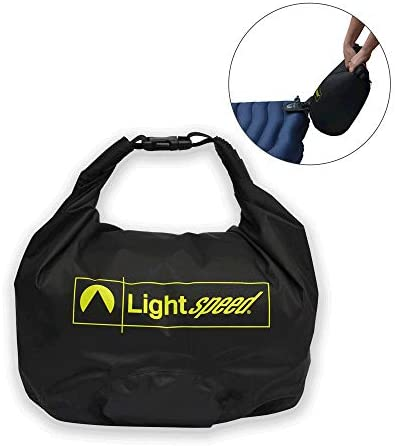 Lightspeed Outdoors PVC Free Single Air Mattress with FlexForm and Dual Chamber Technology Pump product image