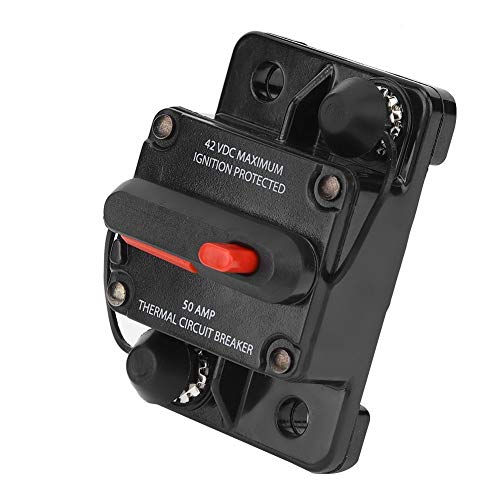 KSTE 48 V 50 A reset handmatig circuit breaker zekeringhouder vrachtwagen toebehoren auto boot