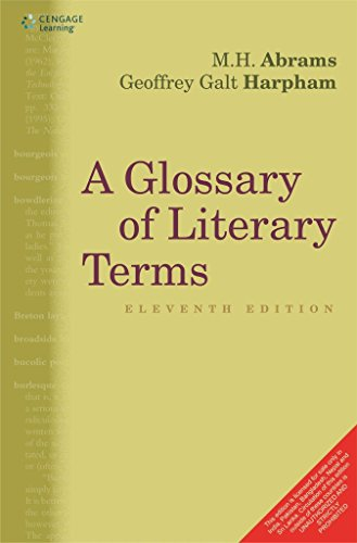 Compare Textbook Prices for A Glossary of Literary Terms 11th Edition ISBN 9788131526354 by M H Abrams