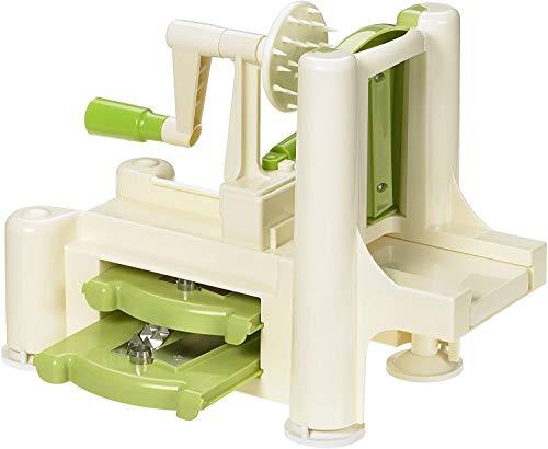 Lurch Spirali 10203 Tagliaverdure colore: Verde / Crema