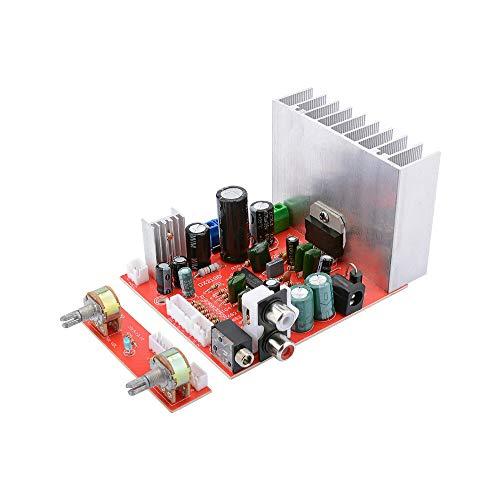 TDA7377 Subwoofer Amplifier Audio Board 38Wx3 Miniskirt Plate Amp 2.1 Channel HiFi Stereo Power Amplifier DIY