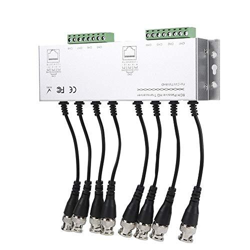 Ricetrasmettitore Video balun passivo, Compatibile con Tutti i HD-CVI, HD-TVI, HD-AHD BNC Maschio a UTP, CC a 60 MHz per videoconferenza con Sistema di telecamere per Uso Professionale