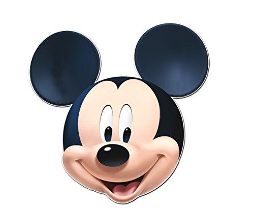 ALMACENESADAN 0862; Super Silueta Disney Mickey Mouse; Producto de cartón; diametro Aprox 83 cm