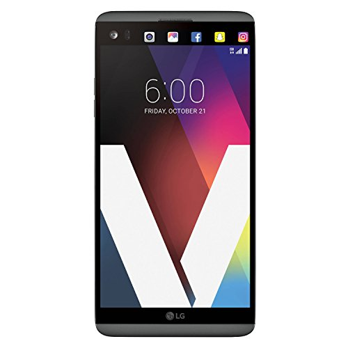 LG V20 VS995 Titan Factory Unlocked GSM + CDMA Smartphone - Compatible with all GSM Carriers Worldwide + Verizon Wireless - (Titan Grey)