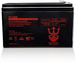 Neptune 12V 9AH SLA AGM Battery Replaces RBC17, CP1290, HR9-12, BP8-12, UB1290, PS-1290