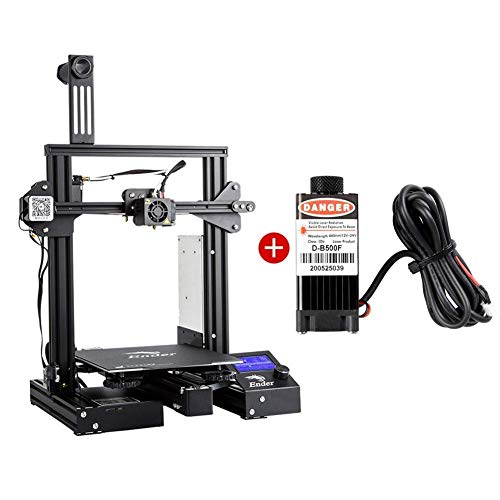Creality Ender 3 Pro 3D Printer & Laser Heat Kits