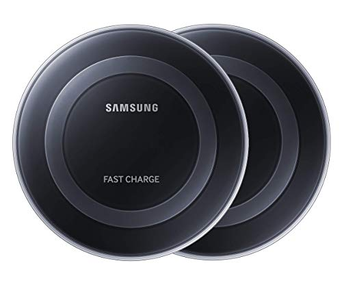 Samsung Qi Certified Fast Charge Wireless Charging Pad with 2A Wall Charger -Supports wireless...