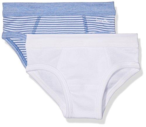 Sanetta 333518 Pantaloncini, Blu (Riviera 50094), 104 cm (Pacco da 2) Bambino