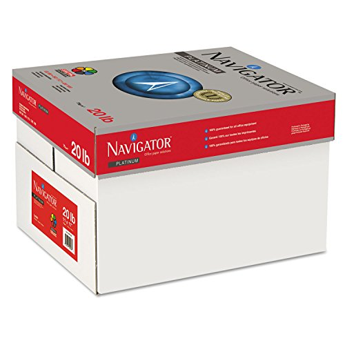 Price comparison product image SOPORCEL NORTH AMERICA INC NPL1720 Platinum Paper,  99 Brightness,  20lb,  11 x 17,  White,  2500 / Carton