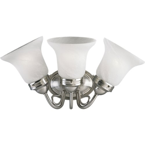 3-Lt. Fluorescent Bath Light with Bulb