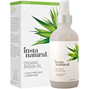 InstaNatural Setaf Insta Natural Organic Argan Oil for Hair, Face, Skin & Nails (4Fl.oz)
