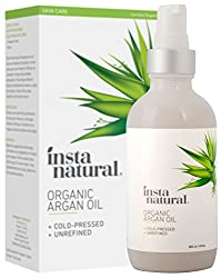 instanatural organic argan oil for hair