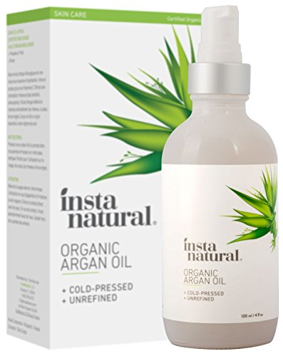 InstaNatural Olio di Argan biologico, 120 ml