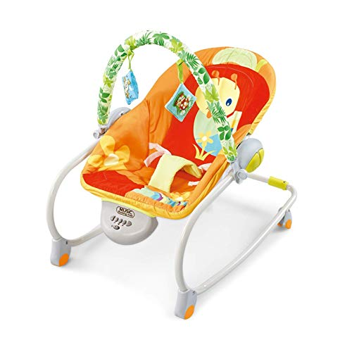 Baby Swing Chair for Infants, Visdron Baby Swing Chair with Music, Electric Portable Baby Swing Cradle for Infants Rocker Swing Chair 29.2x26.8x21.2inch