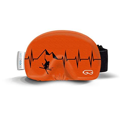 SOGGLE Heartbeat Freestyler 2 - Gafas de esquí (microfibra, talla única), color...