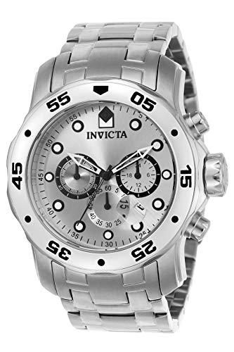 Relógio Masculino Invicta Pro Diver 0071 Prata