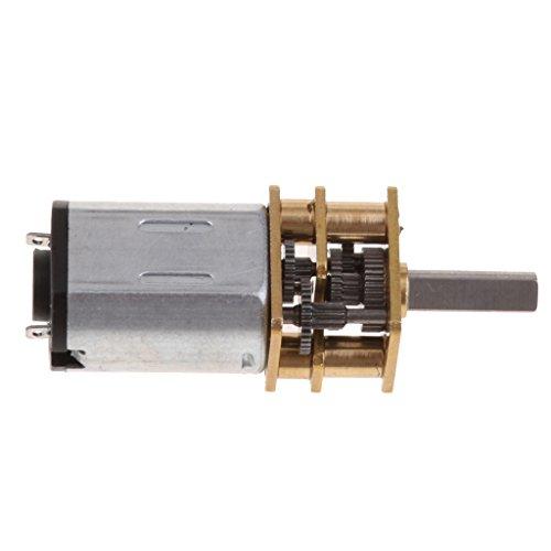 Caja de Engranajes Reductora Eléctrica de alto par Motor DC 12V con...