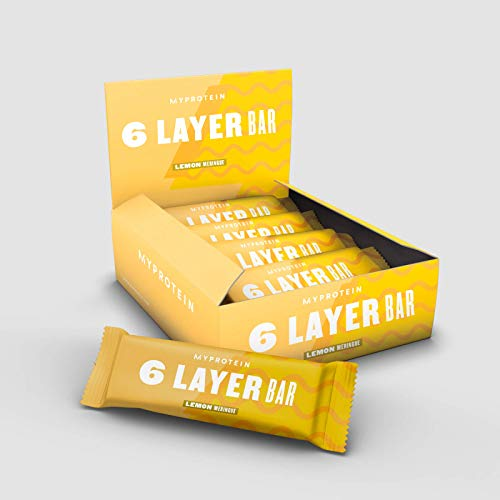 MY Protein 6 Layer Protein Bar Lemon Meringue 12x70g   NEW   Leckerer Eiweiß Riegel  21g Protein pro Riegel