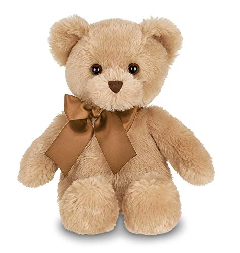Bearington Lil' Honey Brown Plush Stuffed Animal Teddy Bear, 12 inches