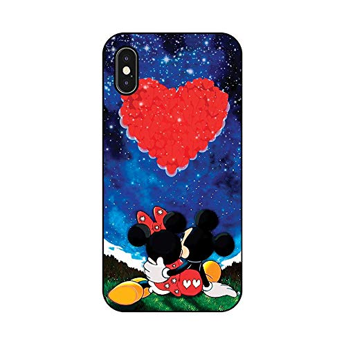 EREMITI JEWELS Cover Personalizzata Compatibile iPhone Topo Luna of Baby Mouse New World (iPhone 8)