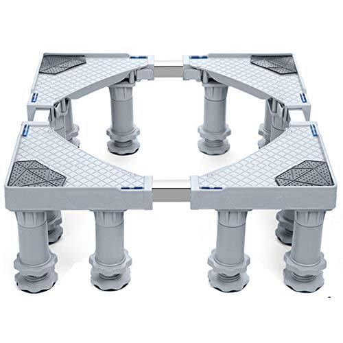 Multi-Funktions-Squared Base Rollen Für Waschmaschine Kühlschränke Freezer Tumbler Dryer Erhöhung Einstellmaschine (12 Beine)