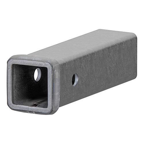 CURT 49090 2-Inch x 9-Inch Weld-On Raw Steel Trailer Hitch Receiver Tube