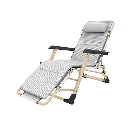 YQQ Chaise De Bureau Pliante Fauteuil De Repos Chaise Longue Chaise De Plage Chaise De Pause Déjeuner 178 * 66 * 98CM