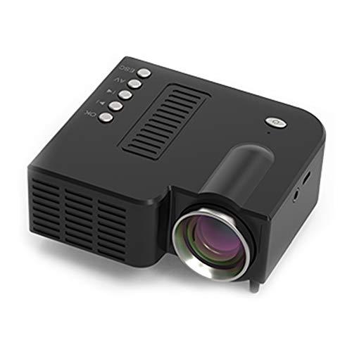 Video Beamer 1080P Beamer Drahtlose Spiegelung Full HD WiFi-Projektor Kompatibel mit...