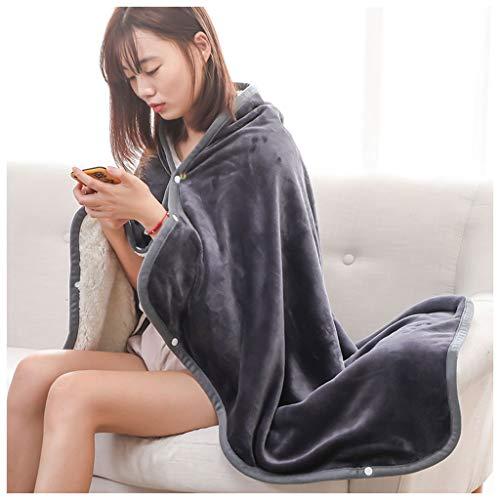 Textil Kleine Quilt Single Blanket Sofa Kissen Decke Auto Kniedecke Büro Schal Decke (100X140 cm 39,37X55,19 in) Bettwäsche (Color : B)