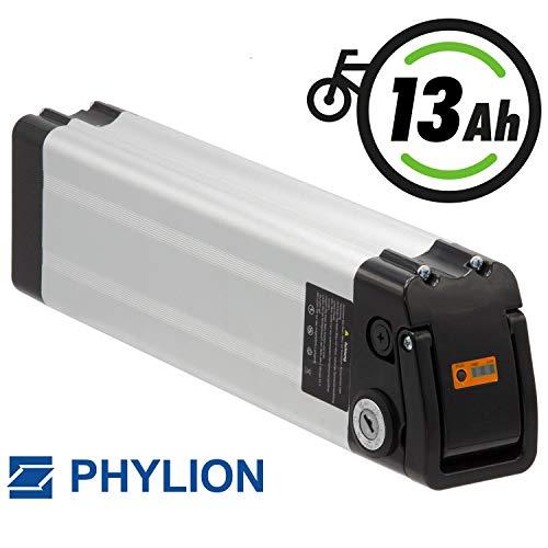 Phylion E-Bike Akku XH 370–10J mit  37V 13AH für MiFa, Rex, Prophete