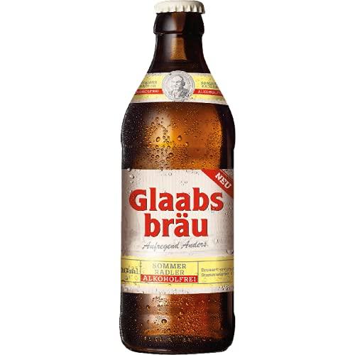Glaabsbräu Sommer-Radler alkoholfrei...