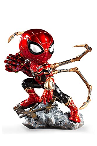 Estátua Iron Spider - Avengers: Endgame - MiniCo - Iron Studios