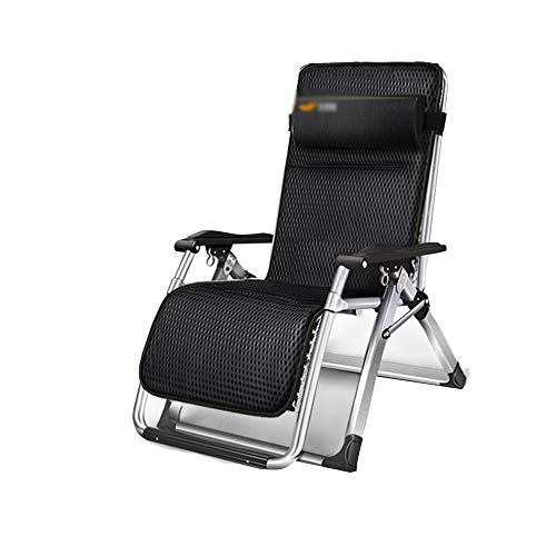 Chaise longue YNN Chaise de Jardin inclinable de Jardin Chaise Pliante Balcon Extérieur Extérieur (Couleur : B)