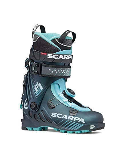 Scarpa W F1 Blau, Touren-Skischuh, Größe EU 41 - Farbe Anthracite - Aqua