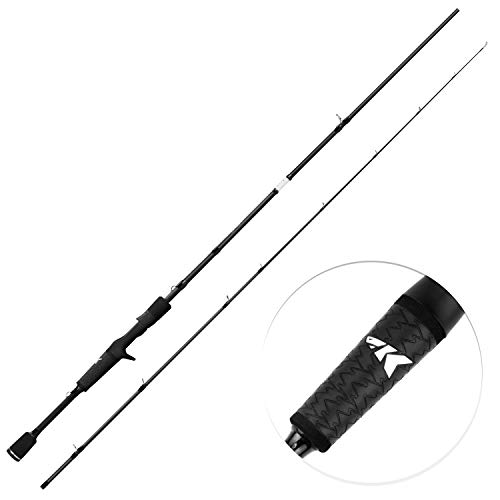 KastKing Crixus Fishing Rods, Casting Rod 7ft-Medium Heavy - Fast-2pcs