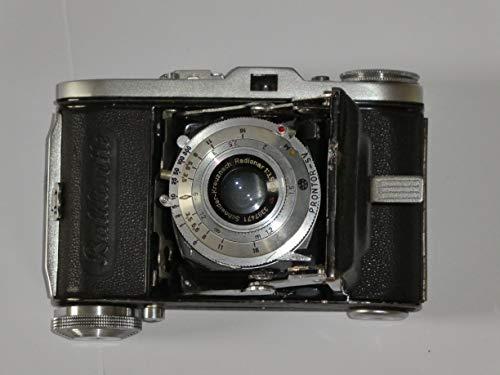 Balda Baldinette - Kleinbildkamera 24x36mm - Kleinbildfilm 135 incl. Objektiv Schneider-Kreuznach Radionar 1: 3,5/50 / PRONTOR SV * Sammlerstück - Kamera löst aus