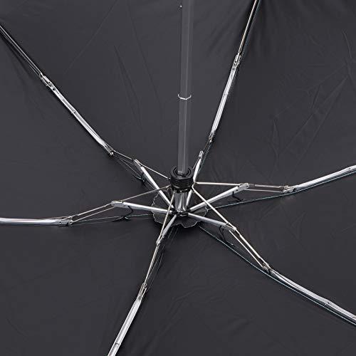 AMONIDA Paraguas de Bolsillo, Paraguas de Vinilo para sombrilla para el hogar para Exteriores(Green)