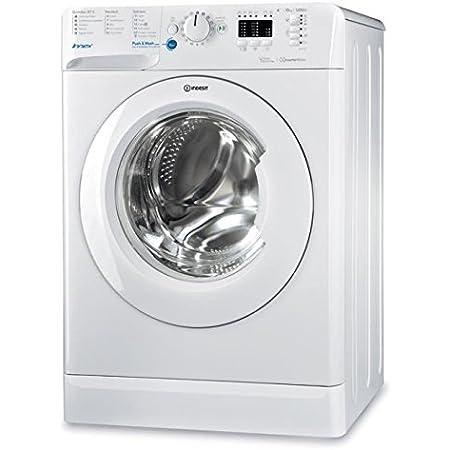 Indesit - BWA - 101283X W FR - Lave linge autonome, charge avant, blanc, boutons, rotatif, gauche, blanc, 10kg, 1200 tr/min, A+++
