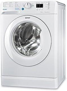 Indesit - BWA - 101283X W FR - Lave linge autonome, charge avant, blanc, boutons, rotatif, gauche, blanc, 10kg, 1200 tr/m...
