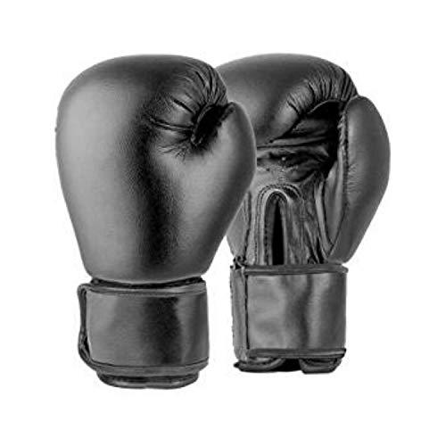Lions Guantes de Boxeo, 4 onzas, Color Negro, para niños de 2 a 5 años, par de Guantes de Boxeo, Color Negro, tamaño niño: 3-4