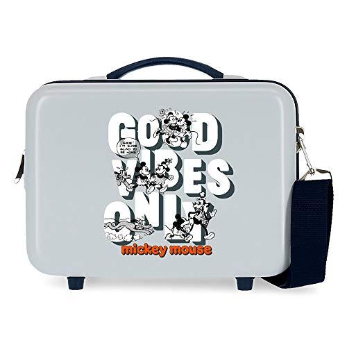 Disney Good Vives Only Neceser Adaptable Azul 29x21x15 cms Rígida ABS 9,14L