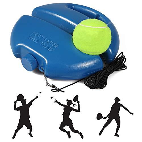 Entrenador de Tenis,Tennis Return Trainer, Solo Tennis Trainer Set,Tennis Training Tool para Entrenamiento en Solitario Niños Adultos Jugador Principiante